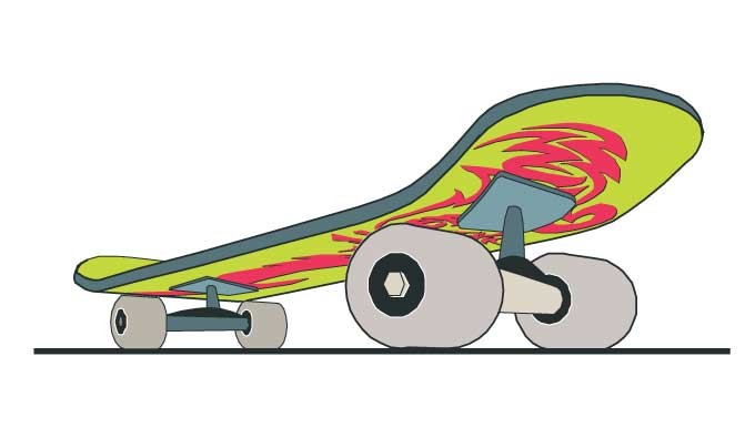 680x395 Skateboard Vector Vectorish