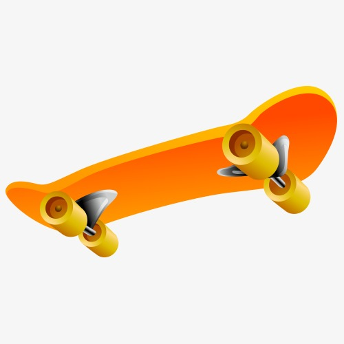 500x500 Skateboard Vector Material, Skateboard Vector, Skateboard, Model