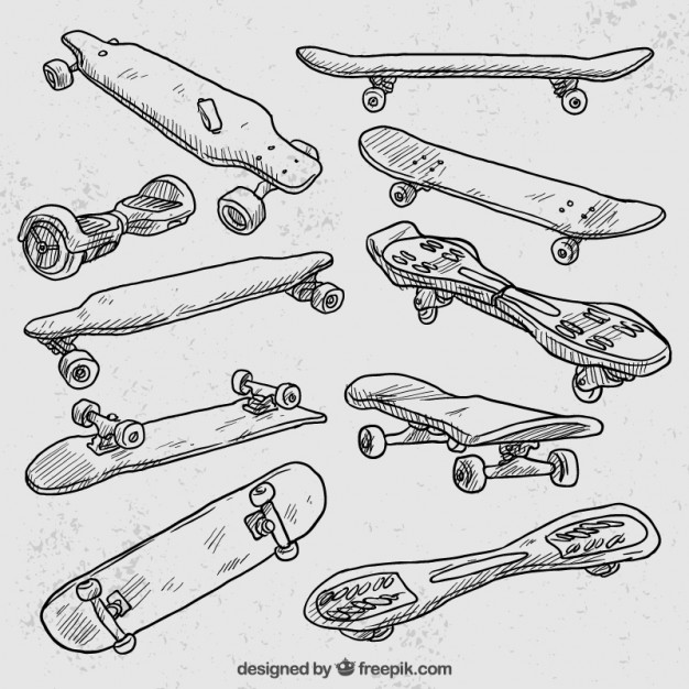 626x626 Skateboard Vectors, Photos And Psd Files Free Download
