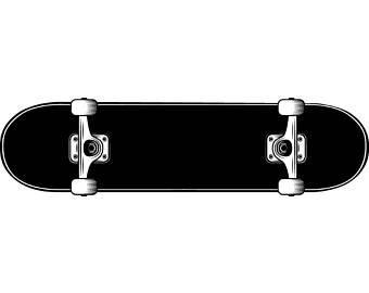 340x270 Skateboard Vector Etsy