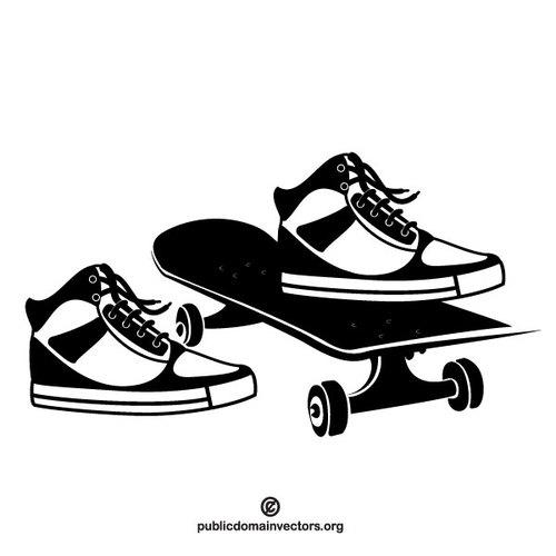 500x500 Skateboard Vector Graphics Public Domain Vectors