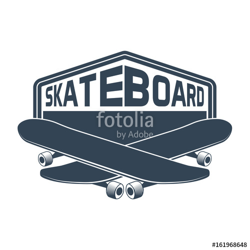500x500 Skateboard Vector Stock Image And Royalty Free Vector Files On