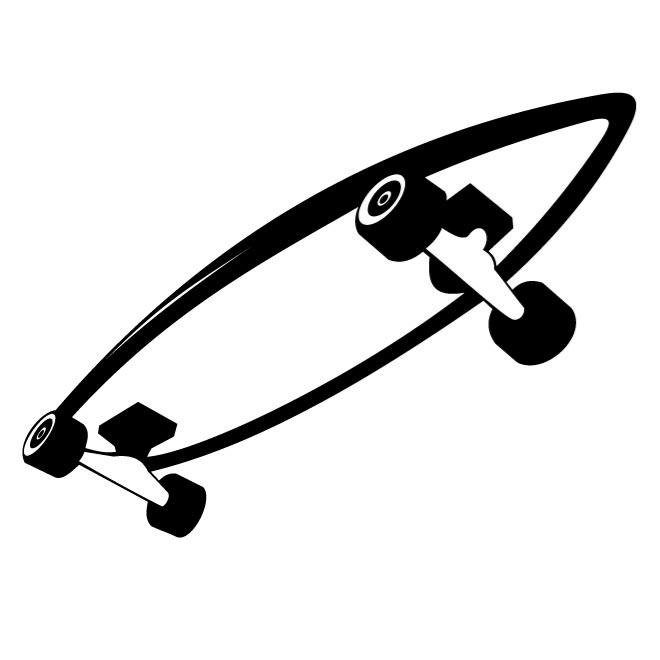 660x660 Free Skateboard Vector Drawing.eps Psd Files, Vectors Amp Graphics