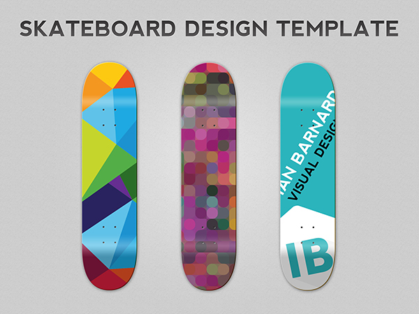 600x450 Free Skateboard Deck Design Template Psd Ian Barnard