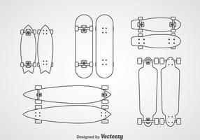 286x200 Skateboard Free Vector Art