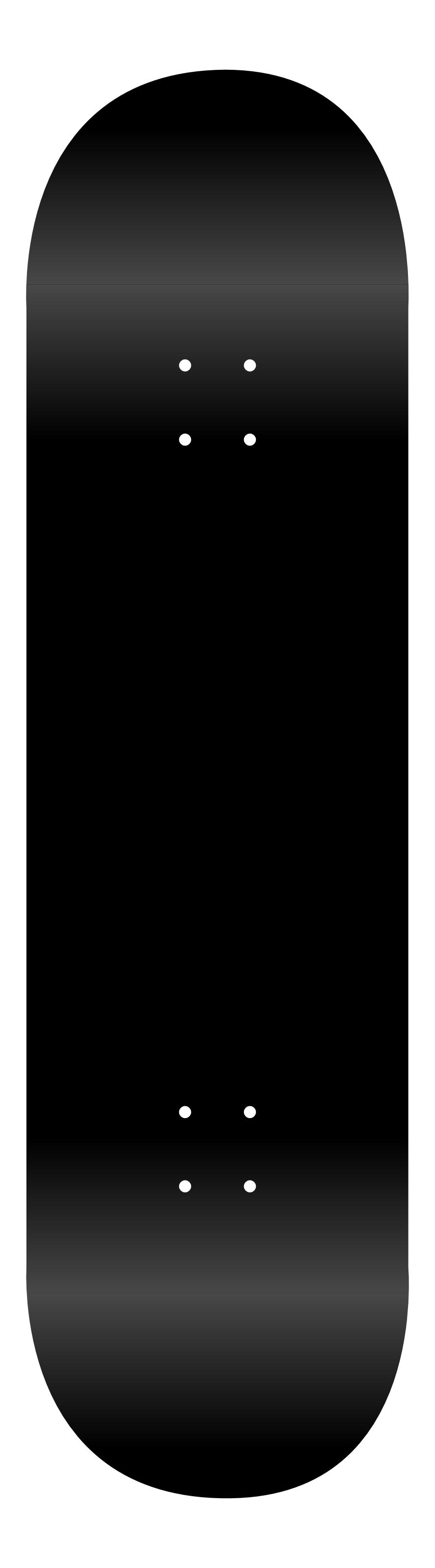 886x3189 Skateboard Vector Template