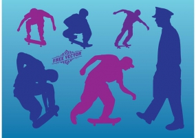 285x200 Skateboard Template Free Vector Graphic Art Free Download (Found
