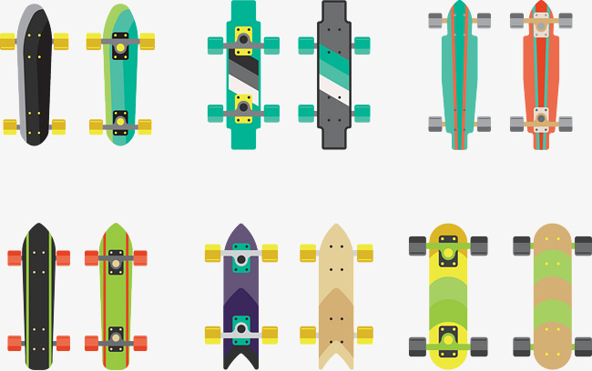 650x408 Vector Skateboard, Skateboard Vector, Skateboard, Vector Png And