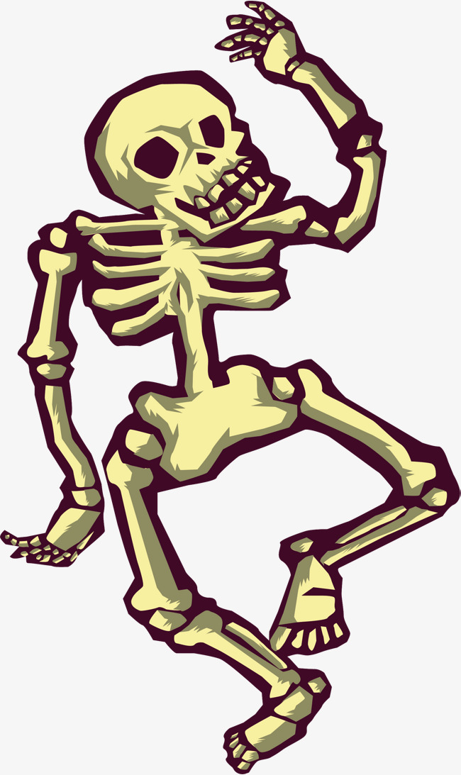 650x1093 Dancing Skeleton, Skeleton Vector, Vector Png, Human Skeleton Png