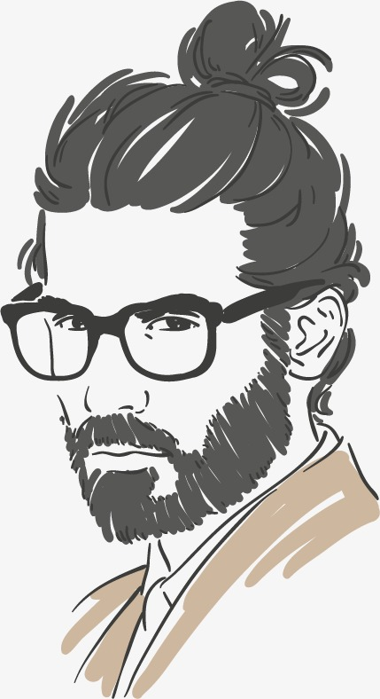 429x788 Fashion Male Character Sketch Vector Material Design,, Hand