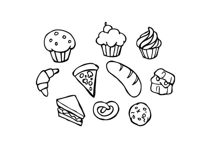 700x490 Bakeries Sketch Icon Vector