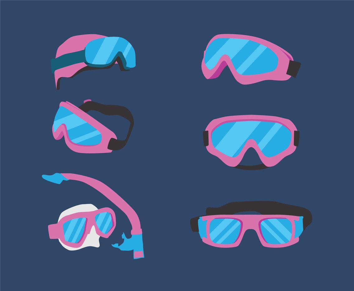 1136x936 Ski Goggles Vector Vector Art Amp Graphics