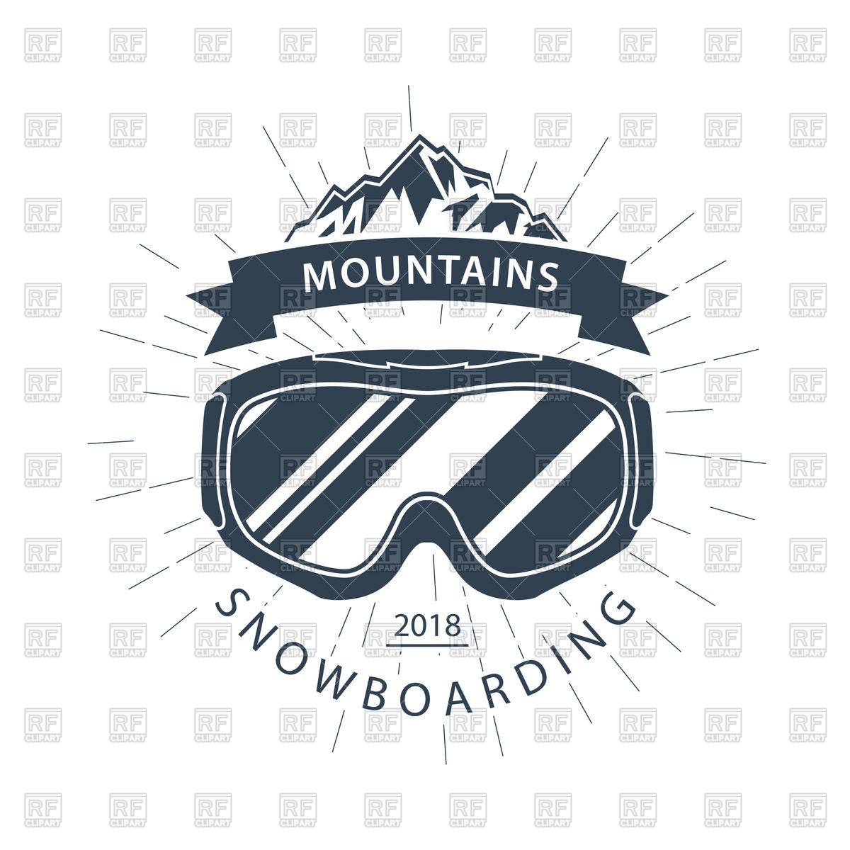 1200x1200 Ski Goggles And Mountains