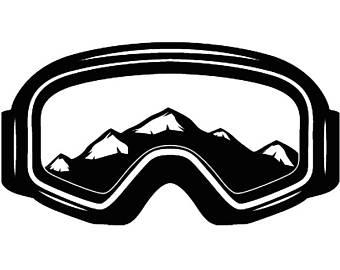 340x270 Ski Goggles Svg Etsy