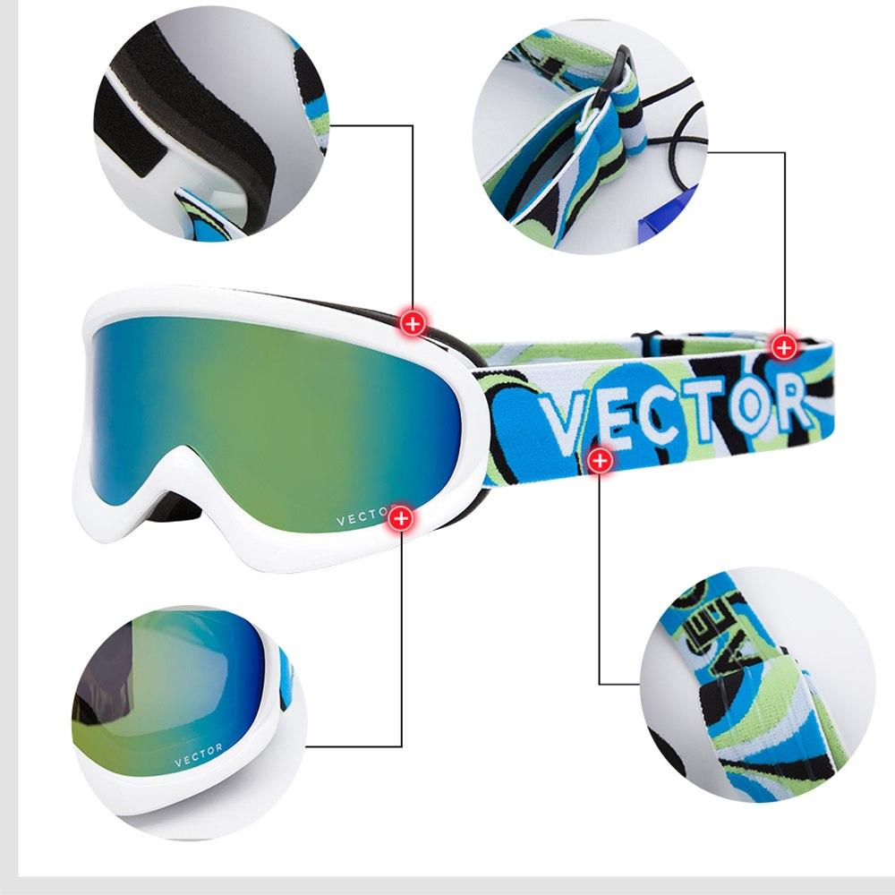 1000x1000 Buy Vector Brand Ski Goggles Kids Double Lens