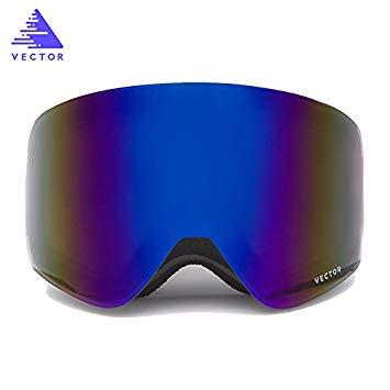 355x355 Vector Snowboard Skate Snow Ski Goggles Adult Double