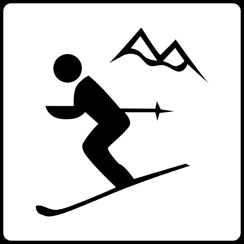 800x800 Hotel Icon Near Ski Area Free Vector 4vector