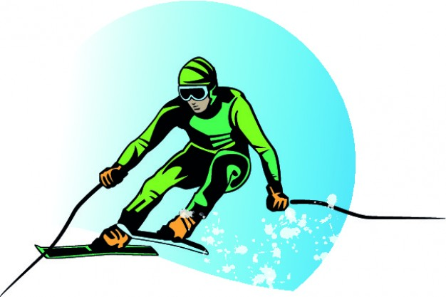 626x417 Skier Vector Vectors, Photos And Psd Files Free Download