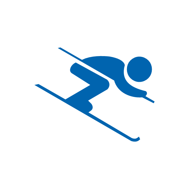 640x640 Winter Sports Pictograms
