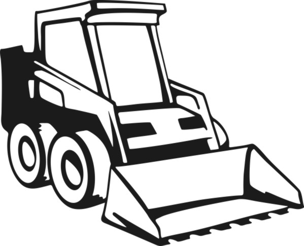 599x485 Clipart Skid Steer Cliparts Vector Clipart