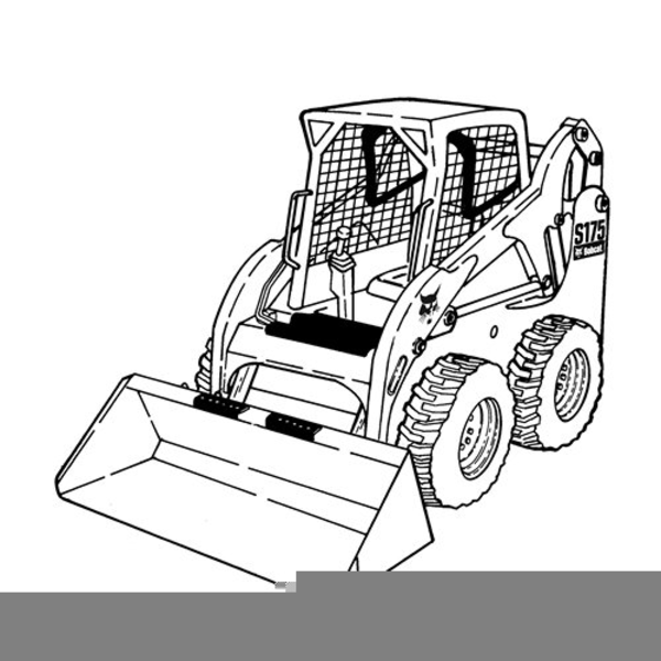 600x600 Color Skid Steer Clipart Free Images