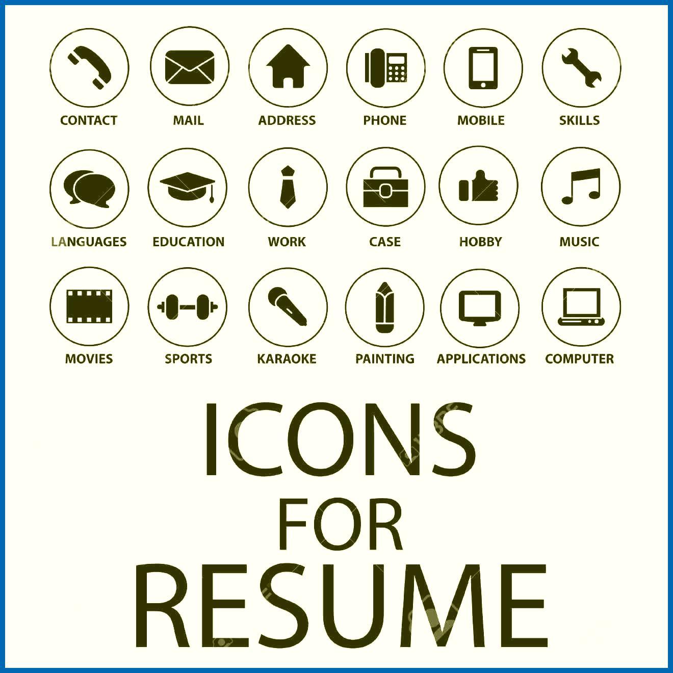 1320x1320 Resume Skills Icon