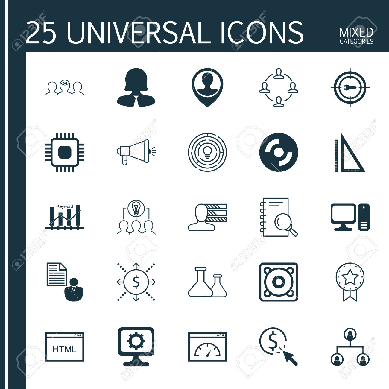 1300x1300 Text Structure Icons Free Icons