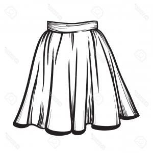 300x300 Elegant Women In Casual Clothing Businesswoman In Skirt Vector