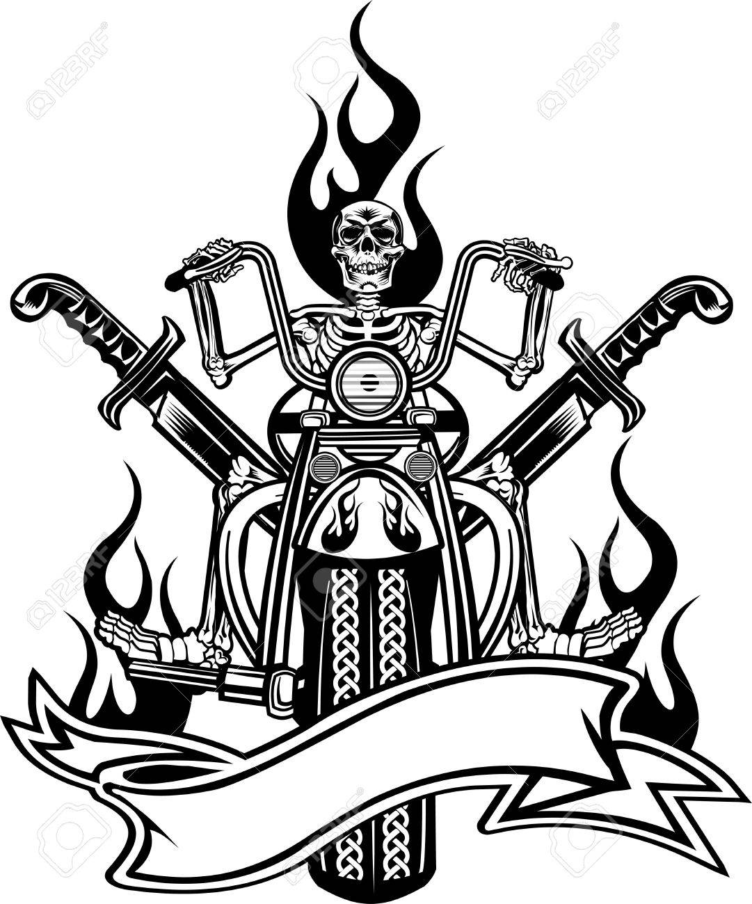 1081x1300 Ghost Rider Clipart Skeleton