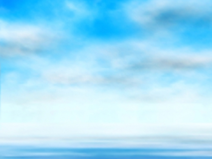 425x318 Blue Sky With Clouds Vector Backgrounds Vector Free Vector