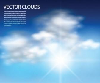 336x280 Vector Blue Sky Vector Art