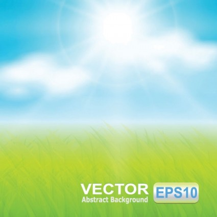 425x424 Vector Grass Sky Vector Free Vector Download In .ai, .eps, .svg