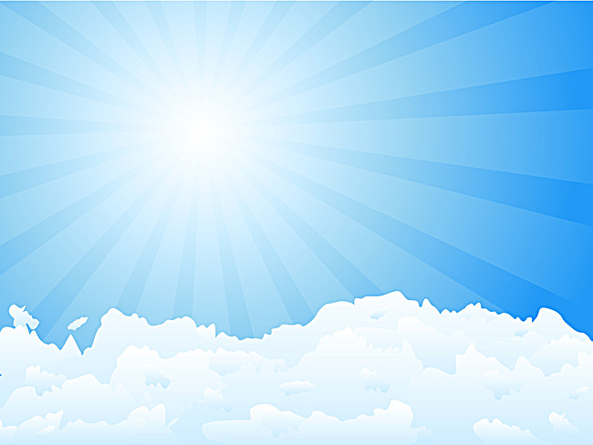 650x488 Blue Sky, Clouds Vector Material, Vector Material, Clouds, Sky