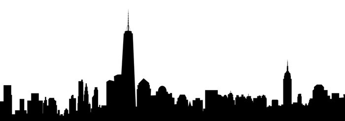 700x246 New York Skyline