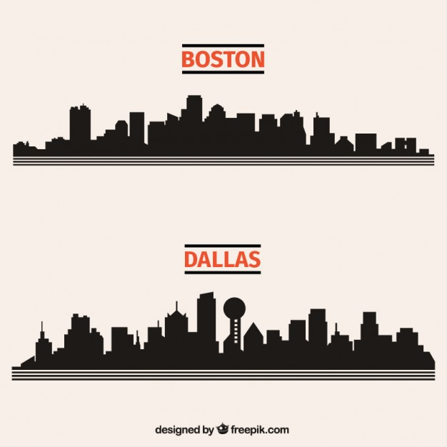 626x626 Dallas Skyline Vectors, Photos And Psd Files Free Download