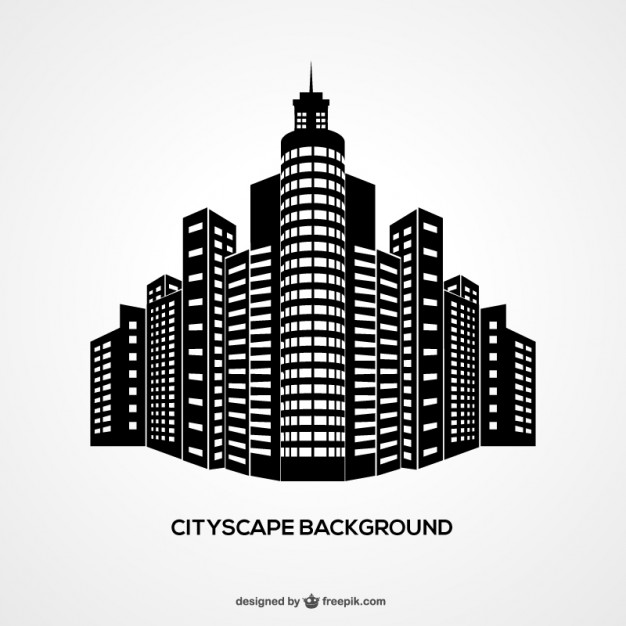 626x626 Cityscape Background Vector Free Download
