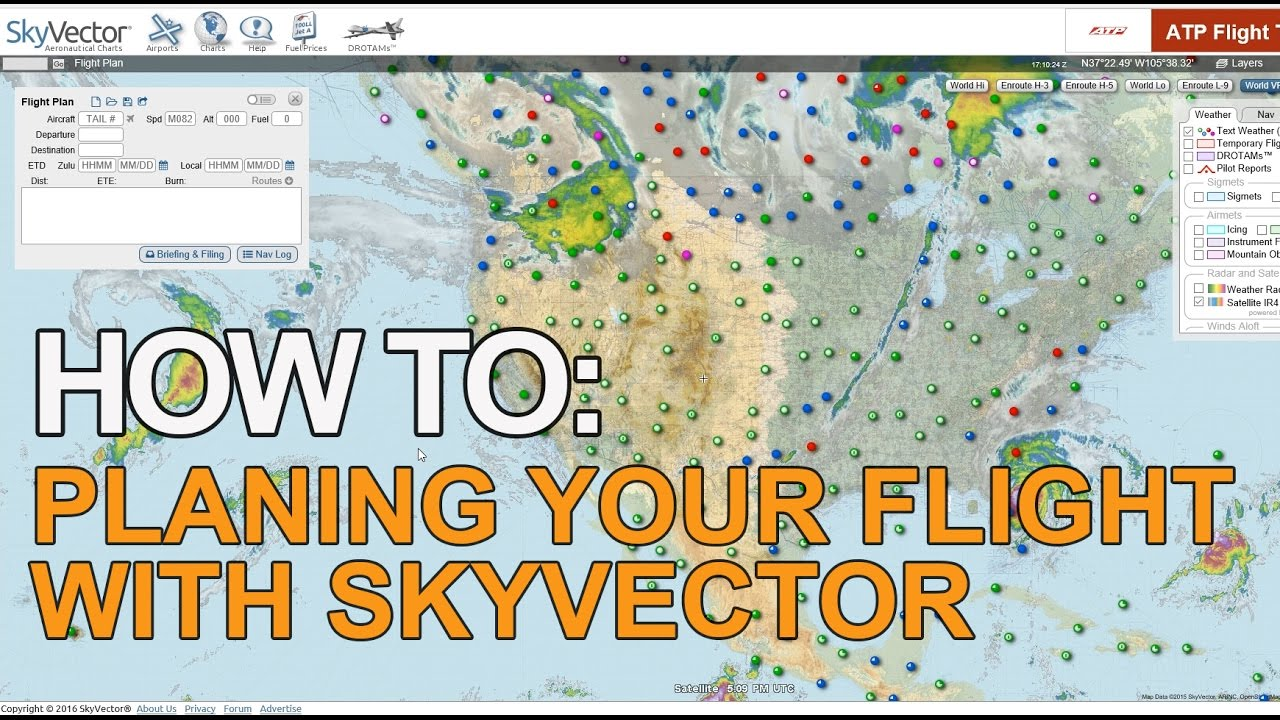 1280x720 How To Planning Your Flight With Skyvector