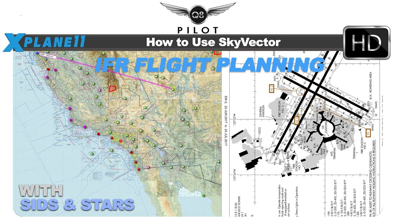 1280x720 How To Use Skyvector For Ifr Flight Planning With Sids And Stars