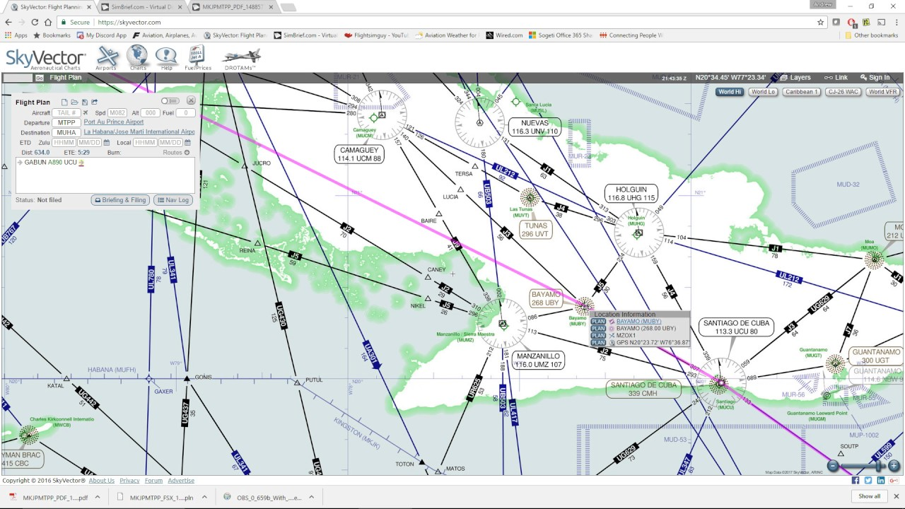 1280x720 Simple Flight Planning With Skyvector And Simbrief