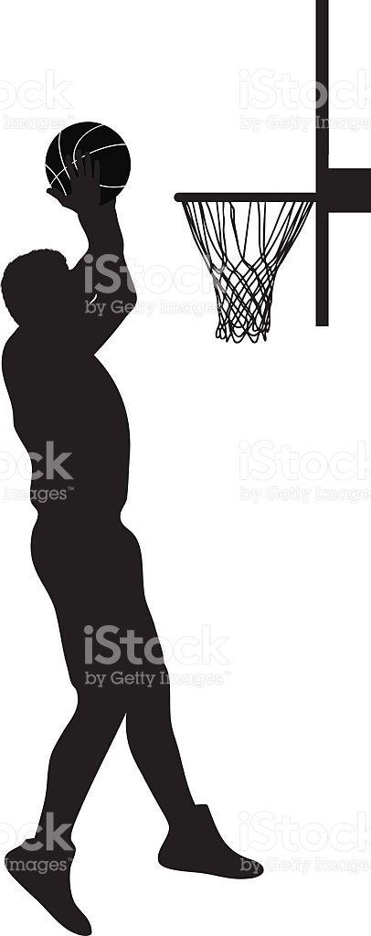 406x1024 Basketball Player Silhouette Basketball Bar Mitzvah