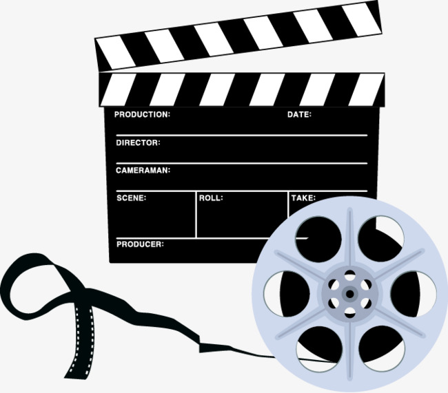 650x571 Film And Slate Vector Illustration, Film Vector, Film, Log Png And