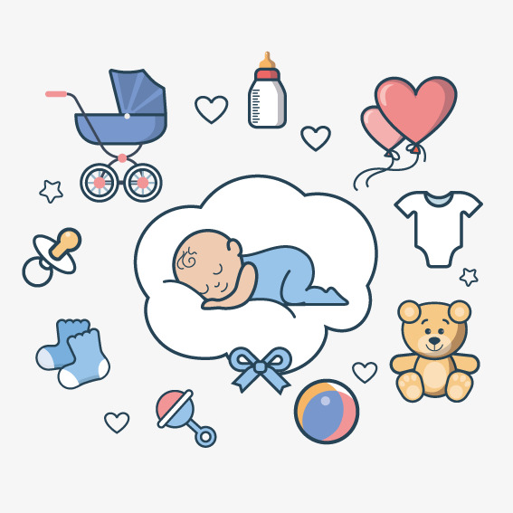 567x567 Sleeping Baby, Vector, Baby, Baby Sleep Png And Vector For Free