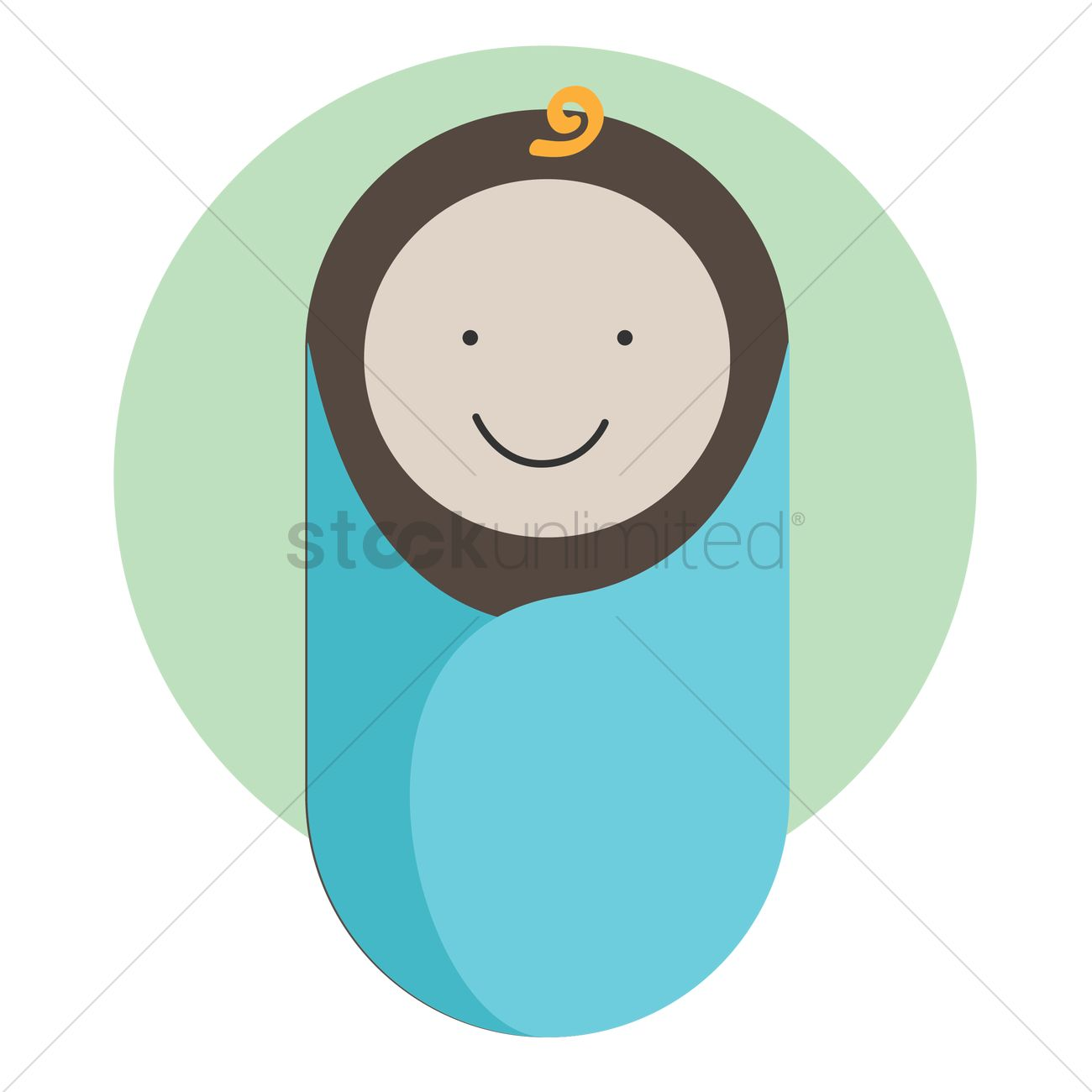 1300x1300 Free Baby Sleeping Bag Vector Image