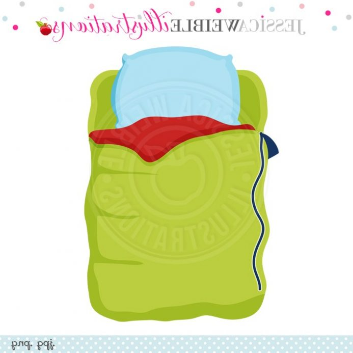 693x693 Collection Of Free Cushioned Clipart Sleeping Bag Pillow. Download
