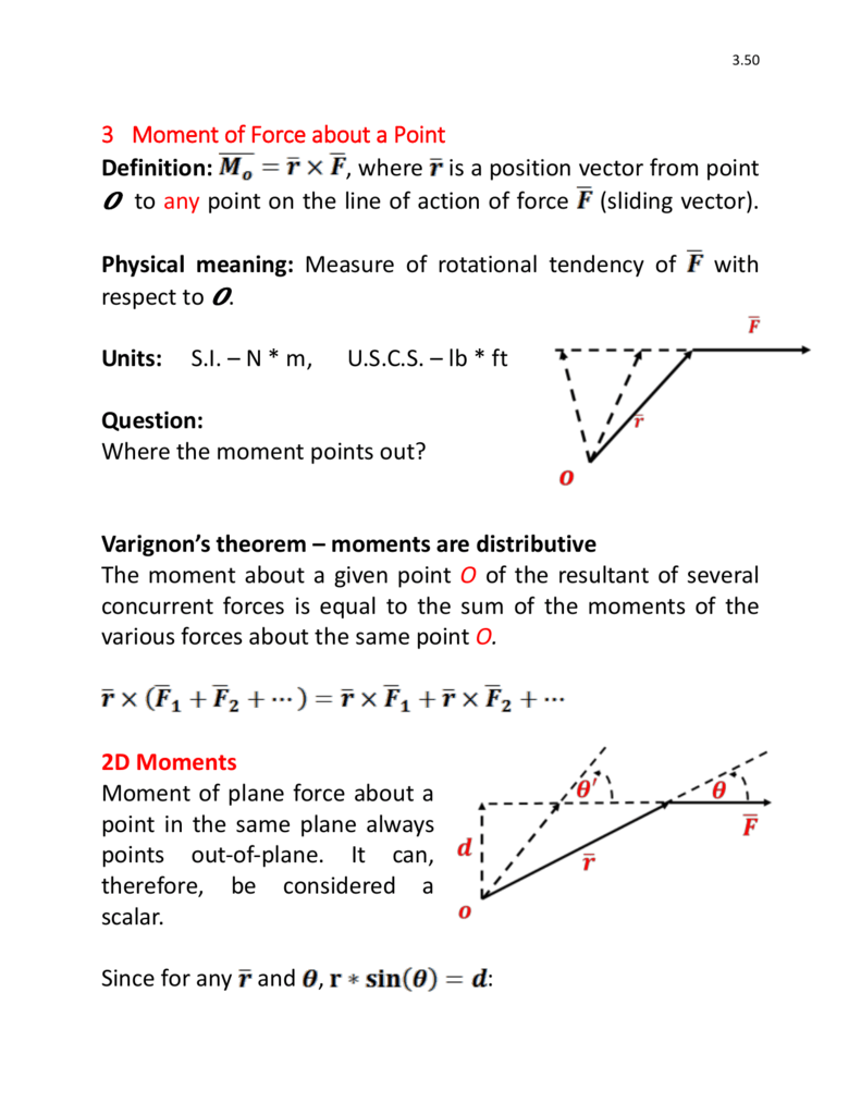 791x1024 3 Moment Of Force About A Point