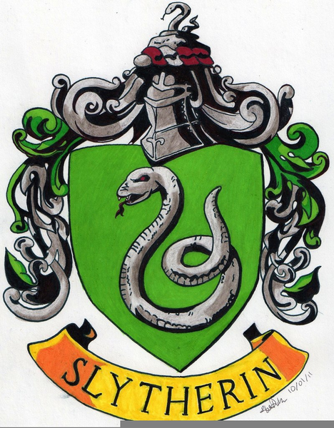 468x600 Slytherin Crest Free Images