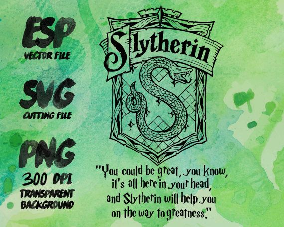 570x456 Slytherin Home Logo Slogan Clipart Svg Cutting Esp Vectors