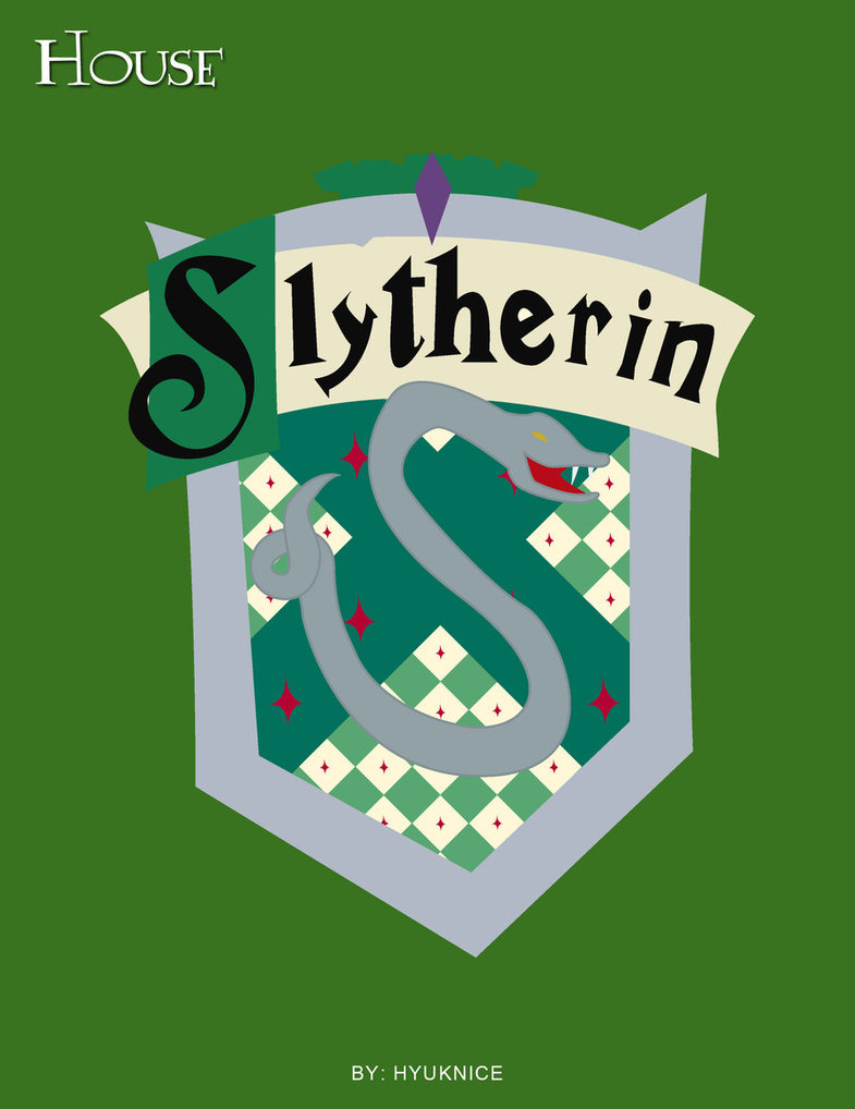 785x1018 Hp Cards Slytherin Crest By Hyuknice