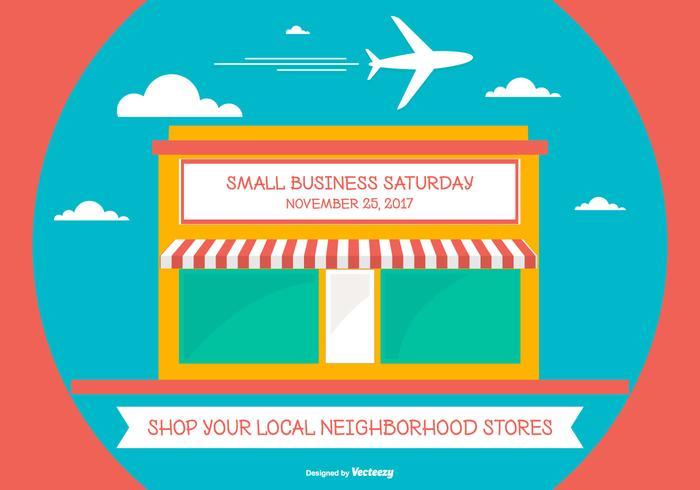 700x490 Cute Samll Business Saturday Illustration