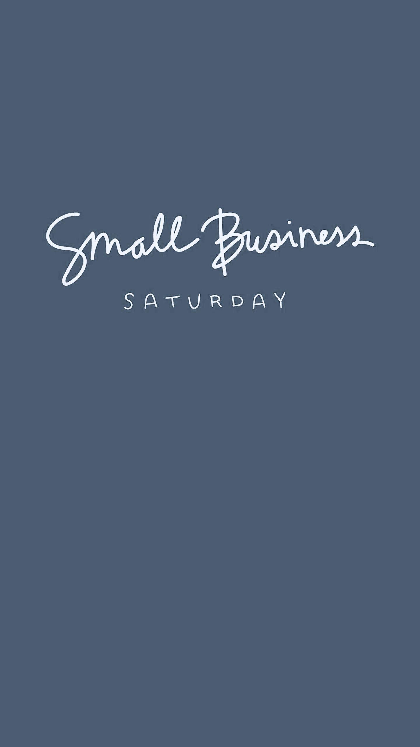 1440x2560 Free Small Biz Saturday Graphics Handdrawn By Brand Designer